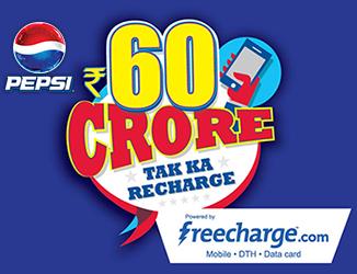 PEPSI Rs.60 Crore Tak Ka Recharge